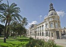 Palacio Consistoria Cartegena Foto de archivo
