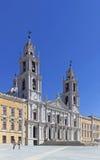 Palacio, convento y basílica nacionales de Mafra Imagen de archivo libre de regalías