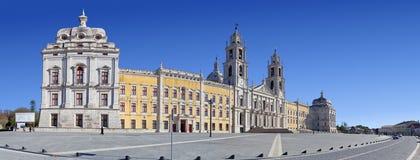 Palacio, convento y basílica nacionales de Mafra Imágenes de archivo libres de regalías