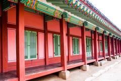 Palacio coreano foto de archivo