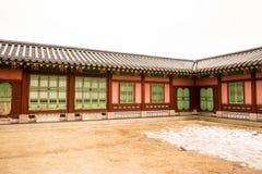 Palacio coreano fotos de archivo