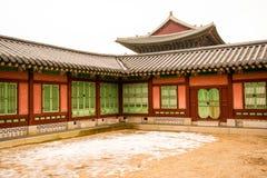 Palacio coreano foto de archivo libre de regalías