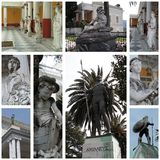 Palacio Corfú Grecia de Achillion Imagen de archivo