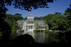 Palacio cristal 1 Royalty Free Stock Photo
