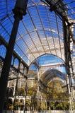 Palacio cristal lizenzfreie stockbilder