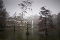 Palacio cristalino en Madrid Fotos de archivo