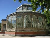 Palacio cristalino Madrid Foto de archivo