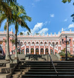 Palacio Cruz ε Souza - Santa Catarina Historical Museum - Florianopolis, Santa Catarina, Βραζιλία στοκ εικόνες
