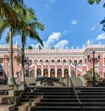 Palacio Cruz e Souza - Santa Catarina Historical Museum - Florianopolis, Santa Catarina, Brazil. Palacio Cruz e Souza Cruz e Souza Palace Santa Catarina stock photo