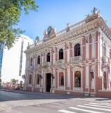 Palacio Cruz e Souza - Santa Catarina Historical Museum - Florianopolis, Santa Catarina, Brazil. Palacio Cruz e Souza Cruz e Souza Palace Santa Catarina stock image
