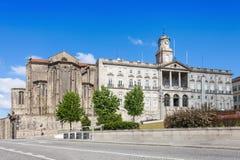 Palacio DA Bolsa e iglesia Fotos de archivo