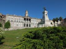 Palacio Da Bolsa Stock Photo