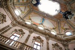 Palacio da Bolsa tak Arkivbilder