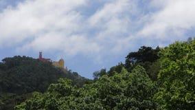 Palacio DA Pena, Πορτογαλία Castle - timelapse απόθεμα βίντεο