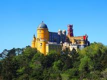Palacio Da Pena immagini stock