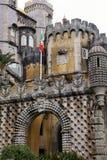 Palacio DA Pena en Sintra, Portugal fotos de archivo
