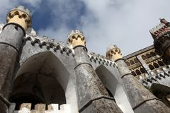 Palacio da Pena, Sintra Royalty Free Stock Photos