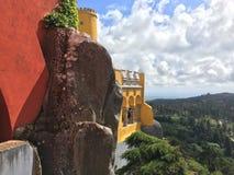 Palacio DA Pena - Sintra Fotografía de archivo libre de regalías