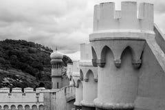 Palacio da Pena in Sintra (portugal). Palacio da Pena is a romanticist castle integrated into the cultural landscape of Sintra (Portugal stock images