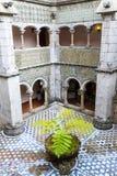 Palacio da Pena in Sintra (portugal). Palacio da Pena is a romanticist castle integrated into the cultural landscape of Sintra (Portugal royalty free stock image