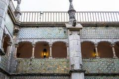 Palacio da Pena in Sintra (portugal). Palacio da Pena is a romanticist castle integrated into the cultural landscape of Sintra (Portugal stock photography