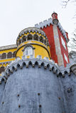 Palacio da Pena in Sintra (portugal). Palacio da Pena is a romanticist castle integrated into the cultural landscape of Sintra (Portugal stock photos