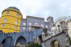 Palacio da Pena in Sintra (portugal). Palacio da Pena is a romanticist castle integrated into the cultural landscape of Sintra (Portugal stock image
