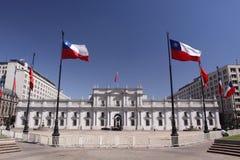palacio de Λα moneda στοκ φωτογραφία