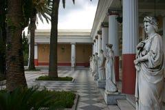 Palacio de Achilleon Fotos de archivo