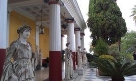 Palacio de Achillion Imágenes de archivo libres de regalías