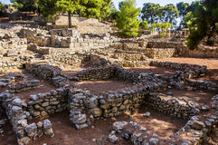 Palacio de Agia Triada Fotos de archivo