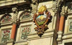 Palacio de Aguas Corrientes i Buenos Aires Royaltyfri Bild