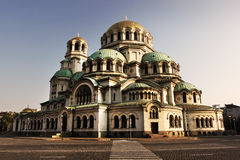 Palacio de Alexander Nevski Imagen de archivo libre de regalías