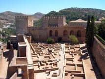 Palacio de Alhambra fotos de archivo libres de regalías
