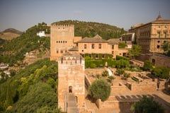 Palacio de Alhambra Imágenes de archivo libres de regalías
