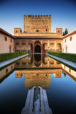 Palacio de Alhambra, Granada, España Foto de archivo libre de regalías