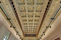 Palacio de Aljaferia en Zaragoza, España Imagen de archivo libre de regalías