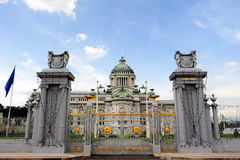 Palacio de Anantasamakom, Bangkok, Tailandia Foto de archivo libre de regalías