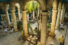 Palacio de artesanias, visión constructiva desde Cuba Fotos de archivo