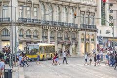 Palacio de Avenida del hotel en Lisboa Fotografía de archivo