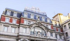 Palacio de Avenida del hotel en Lisboa - LISBOA - PORTUGAL - 17 de junio de 2017 Foto de archivo libre de regalías