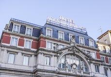 Palacio de Avenida del hotel en Lisboa - LISBOA - PORTUGAL - 17 de junio de 2017 Imagenes de archivo