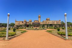 Palacio de Bangalore fotos de archivo libres de regalías