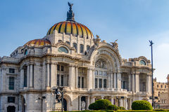 Palacio de Bellas Artes παλάτι Καλών Τεχνών - Πόλη του Μεξικού, Μεξικό Στοκ φωτογραφίες με δικαίωμα ελεύθερης χρήσης