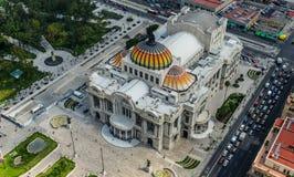 Palacio de Bellas Artes - παλάτι των Καλών Τεχνών Στοκ Εικόνες