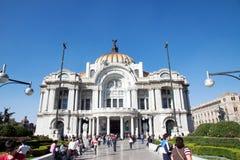 Palacio de Bellas Artes, Πόλη του Μεξικού Στοκ Εικόνα