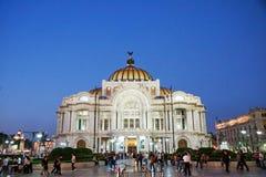 Palacio de Bellas Artes, Πόλη του Μεξικού Στοκ Φωτογραφία