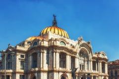 Palacio de Bellas Artes στην Πόλη του Μεξικού Στοκ φωτογραφία με δικαίωμα ελεύθερης χρήσης