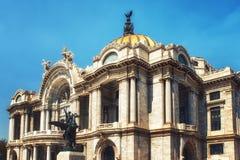 Palacio de Bellas Artes στην Πόλη του Μεξικού Στοκ φωτογραφίες με δικαίωμα ελεύθερης χρήσης