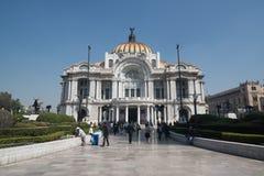 Palacio de Bellas Artes στην Πόλη του Μεξικού Στοκ Φωτογραφίες